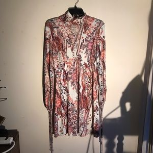 Free People All Dolled Up Turtleneck Dress, Size M